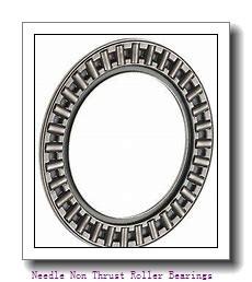 0.375 Inch | 9.525 Millimeter x 0.563 Inch | 14.3 Millimeter x 0.5 Inch | 12.7 Millimeter  IKO BAM68  Needle Non Thrust Roller Bearings