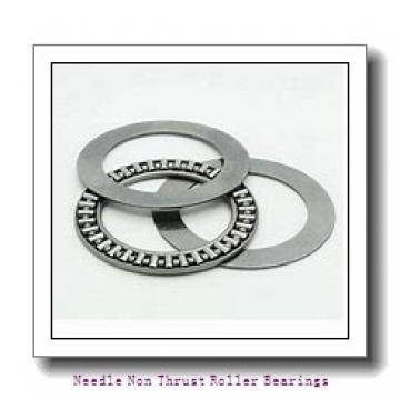 0.375 Inch   9.525 Millimeter x 0.625 Inch   15.875 Millimeter x 0.5 Inch   12.7 Millimeter  IKO BHAM68  Needle Non Thrust Roller Bearings