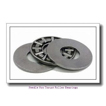 0.669 Inch | 17 Millimeter x 0.787 Inch | 20 Millimeter x 0.65 Inch | 16.5 Millimeter  IKO IRT1716  Needle Non Thrust Roller Bearings